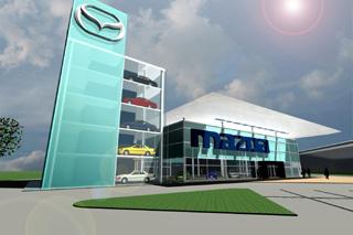 Mazda On Tj Ong Architect Showroom